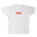Supreme (シュプリーム) Tシャツ 12S/S ×COMME des GARCONS SHIRTS ドットBOXロゴTシャツ(Box Logo Tee) ホワイト L …