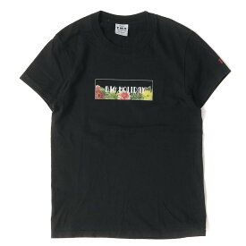 TMT (ティーエムティー) Tシャツ 18SS フラワーグラフィックTシャツ(S/SL ラフィー天竺TEE) ブラック S 【メンズ】【美品】【K2317】【中古】【あす楽☆対応可】