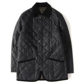 MACKINTOSH (マッキントッシュ) リバーシブルダウンキルティングコート ブラック×オリーブ 40 【メンズ】【K2219】【中古】【あす楽☆対応可】