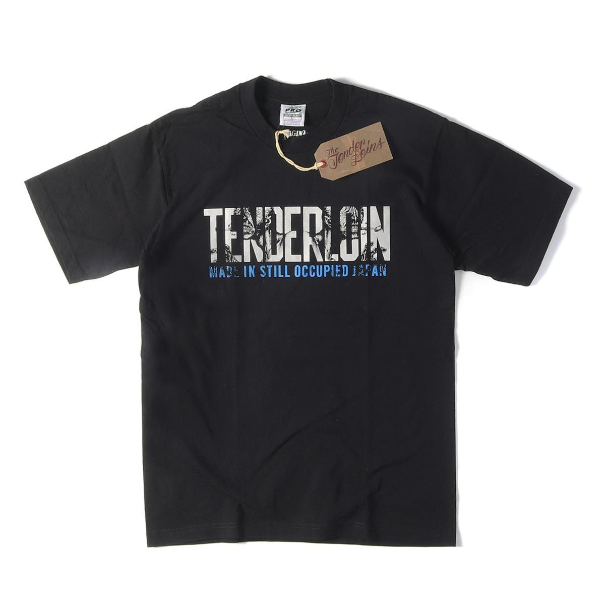 TENDERLOIN (テンダーロイン) Tシャツ モンスター ブランドロゴ ヘビー Tシャツ T-TEE QB 2018年 ブラック L 【メンズ】【K2219】【あす楽☆対応可】