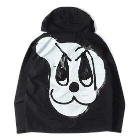Supreme (シュプリーム) 18A/W ドッググラフィックテープドシームジャケット(Dog Taped Seam Jacket) ブラック M 【メンズ】【K2268】【あす楽☆対応可】