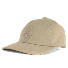 asics (アシックス) 18A/W ロゴプリントコットンダッドキャップ(OP Dad Hat) ベージュ 【メンズ】【中古】【新品同様】【K2270】