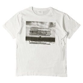The Letters (レターズ) 17A/W フォトグラフィックTシャツ(Dying T-shirt) ホワイト S 【メンズ】【K2359】【あす楽☆対応可】