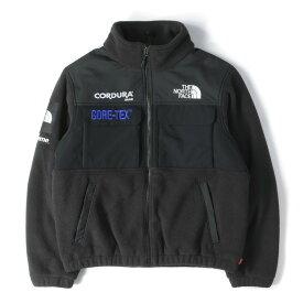 Supreme (シュプリーム) ジャケット 18AW THE NORTH FACE GORE-TEX フリースジャケット (Expedition Fleece) ブラック S 【メンズ】【中古】【美品】【K2456】【あす楽☆対応可】