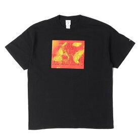 NOAH (ノア) Tシャツ 17SS バード グラフィック Tシャツ (Final Warning Tee) ブラック XL 【メンズ】【中古】【K2311】【あす楽☆対応可】