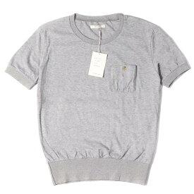 The Letters (レターズ) Tシャツ ポケット プレーン Tシャツ ライトグレー M 【メンズ】【K2356】【あす楽☆対応可】