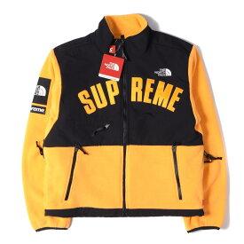 Supreme (シュプリーム) 19S/S ×THE NORTH FACE デナリフリースジャケット(Denali Fleece Jacket) イエロー S 【メンズ】【K2457】【あす楽☆対応可】