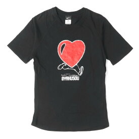 【Fashion THE SALE】【10%OFF】UNDERCOVER (アンダーカバー) ×NIKE GYAKUSOU ハートランナーグラフィックTシャツ ブラック M 【メンズ】【中古】【K2626】【あす楽☆対応可】
