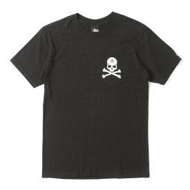 STUSSY (ステューシー) ×mastermind JAPAN スカルボーンTシャツ ブラック S 【メンズ】【K2716】【あす楽☆対応可】