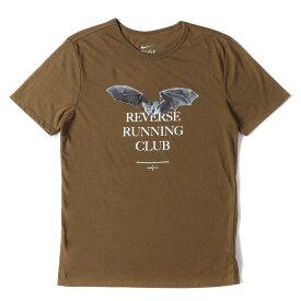 【Fashion THE SALE】【10%OFF】UNDERCOVER (アンダーカバー) Tシャツ 15AW × NIKE GYAKUSOU コウモリ グラフィック Tシャツ ブラウン M 【メンズ】【中古】【美品】【K2607】【あす楽☆対応可】