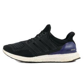 adidas (アディダス) ULTRA BOOST (B27171) ブラック×パープル US9(27) 【メンズ】【中古】【K2386】【あす楽☆対応可】