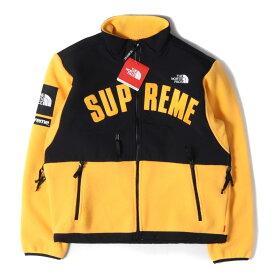 Supreme シュプリーム ジャケット 19SS THE NORTH FACE デナリ フリースジャケット Denali Fleece Jacket イエロー S 【メンズ】【K2468】【あす楽☆対応可】