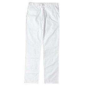 Dior HOMME (ディオールオム) パンツ 08SS コットン ホワイト パンツ イタリア製 ホワイト 46 【メンズ】【中古】【K2397】【あす楽☆対応可】