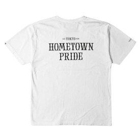 NEIGHBORHOOD (ネイバーフッド) 16SS HOMETOWN PRIDEロゴTシャツ(HOME BOY / C-TEE.SS) ホワイト L 【メンズ】【中古】【K2398】【あす楽☆対応可】