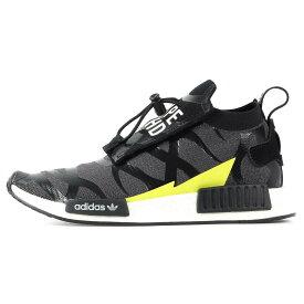adidas (アディダス) 2018年製 ×NEIGHBORHOOD ×BAPE NBHD BAPE NMD STEALTH(EE9702) ブラック US9.5(27.5cm) 【メンズ】【K2399】【あす楽☆対応可】