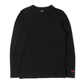 TMT (ティーエムティー) Tシャツ 16AW ピマコットン ロングスリーブ Tシャツ L/SL PIMA COTTON JERSEY ブラック S 【メンズ】【中古】【美品】【K2402】【あす楽☆対応可】