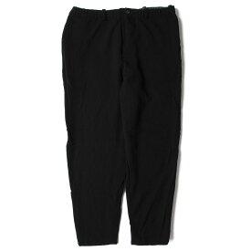 Yohji Yamamoto(Y's) (ヨウジヤマモト) パンツ ミックス 織り ウール リラックス パンツ 日本製 ブラック 【メンズ】【中古】【K2428】【あす楽☆対応可】