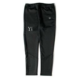Yohji Yamamoto(Y's) (ヨウジヤマモト) パンツ 19AW × NEW ERA Y's ロゴ プリント ウォームアップパンツ WARMUP PANTS ブラック S 【メンズ】【K2435】【あす楽☆対応可】