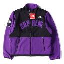 Supreme (シュプリーム) ジャケット 19SS × THE NORTH FACE デナリフリースジャケット Denali Fleece Jacket チランジアパープル L 【メンズ】【K25