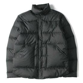 THE NORTH FACE ノースフェイス ダウンジャケット Ron Herman ダウン シャツジャケット パープルレーベル Ripstop Stuffed Shirt 19AW ブラック L 【メンズ】【美品】【中古】【K2768】