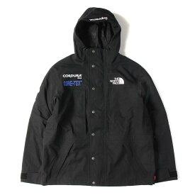 Supreme シュプリーム ジャケット THE NORTH FACE GORE-TEX マウンテン ジャケット Expedition Jacket 18AW ブラック L 【メンズ】【中古】【美品】【K2549】