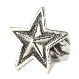 CODY SANDERSON コディサンダーソン ミディアムスターリング Medium Star Ring シルバー 16号 【メンズ】【中古】【K3031】