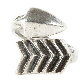 CODY SANDERSON コディサンダーソン リング 指輪 ツイストアローリング TWISTED ARROW RING シルバー 16号 【メンズ】【中古】【K3031】