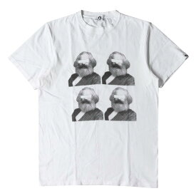 GOOD ENOUGH グッドイナフ Tシャツ カールマルクス プリント Tシャツ ホワイト L 【メンズ】【中古】【K2665】