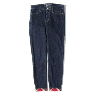 BLUE LABEL CRESTBRIDGE blue label crest bridge underwear hem checks Kinney denim underwear stretto navy black red beige 36(S)
