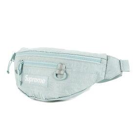 【プライスダウン】Supreme シュプリーム バッグ 19SS ブランドロゴ柄 コーデュラナイロン ウエストバッグ Waist Bag アイス 【メンズ】【美品】【中古】【K3089】