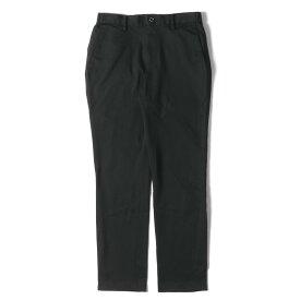 BLACK LABEL CRESTBRIDGE ブラック レーベル クレストブリッジ パンツ ストレッチ T/C ツイル スラックス パンツ ブラック S 【メンズ】【中古】【美品】【K2709】