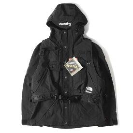 Supreme シュプリーム ジャケット 20SS THE NORTH FACE RTG GORE-TEX ベスト付き ジャケット Jacket + Vest ブラック L 【メンズ】【K2616】