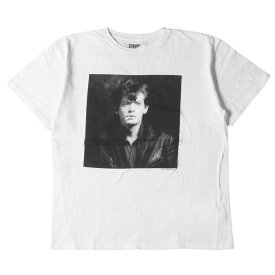 Stie-lo スティーロー Tシャツ Robert Mapplethorpe ロバート・メイプルソープ フォト Tシャツ ホワイト L 【メンズ】【中古】【美品】【K2752】