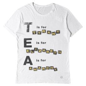 fragment フラグメント Tシャツ AKA SIX simon barker パンク グラフィック Tシャツ tyrant-T ホワイト M 【メンズ】【中古】【K2714】