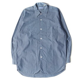 GOOD ENOUGH グッドイナフ シャツ シャンブレーシャツ 90s インディゴ 【メンズ】【中古】【K2715】