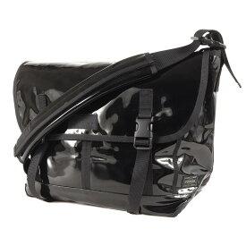 STUSSY ステューシー バッグ PORTER エナメル メッセンジャーバッグ ブラック 【メンズ】【中古】【K2716】