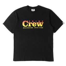 BBC ICE CREAM ビービーシー Tシャツ グラデーション ロゴ Tシャツ ブラック L 【メンズ】【中古】【美品】【K2723】