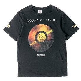BBC/ICE CREAM ビービーシー Tシャツ SOUND OF EARTH プリント クルーネック Tシャツ ブラック M 【メンズ】【中古】【K2737】
