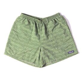 Patagonia パタゴニア ショーツ ネイティブ柄 バギーズショーツ Baggies Shorts-5 15SS オリーブ系 S 【メンズ】【美品】【中古】【K3079】
