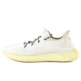 adidas アディダス YEEZY BOOST 350 V2 CREAM WHITE (CP9366) ホワイト / グレー US10 28cm 【メンズ】【中古】【K2988】