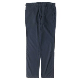 TOMORROWLAND トゥモローランド パンツ 製品染め加工 ストレート コットンパンツ 日本製 ネイビー 46 【メンズ】【中古】【K2765】