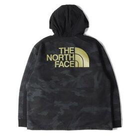 THE NORTH FACE ノースフェイス パーカー 19AW カモフラージュ スウェット Graphic Pullover Hoodie ブラック XL 【メンズ】【中古】【K2809】