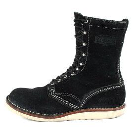Wesco ウエスコ ラフアウト ジョブマスター ブーツ Jobmaster ブラック 約28cm 【メンズ】【中古】【K2783】
