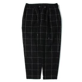 VICTIM ビクティム パンツ ウインドペン ウール イージーパンツ ブラック XL 【メンズ】【中古】【K2783】