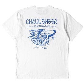 CHALLENGER チャレンジャー Tシャツ 20AW ウルフ グラフィック Tシャツ WOLF TEE ホワイト L 【メンズ】【中古】【美品】【K2787】