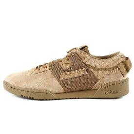 Reebok リーボック mita sneakers WORKOUT LOW CLEAN MITA (BS7772) ブラウン US9.5(27.5cm)【メンズ】【中古】【K3030】