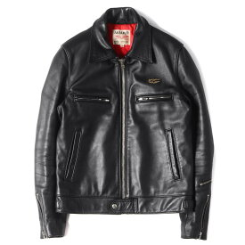 Lewis Leathers ルイスレザーズ ジャケット ドミネーター レザー シングル ライダース ジャケット DOMINATOR ブラック 36 【メンズ】【美品】【中古】【K2828】