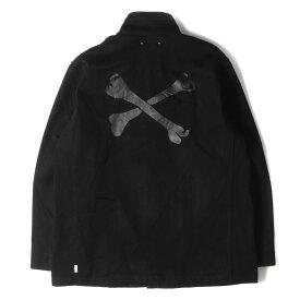 WTAPS ダブルタップス ジャケット MINEDENIM クロスボーン M-65 ジャケット W2002MOD M-65 Field Jacket 20AW ブラック M 【メンズ】【K2892】
