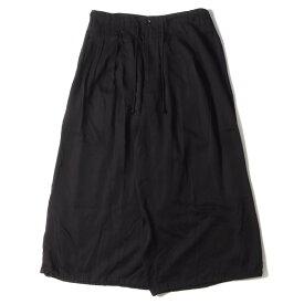 Yohji Yamamoto Y's ヨウジヤマモト パンツ 20SS ウール ギャバジン バルーンパンツ Wool Gabardine Balloon pants ブラック 2 【メンズ】【中古】【美品】【K2923】
