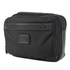 TUMI トゥミ バッグ バリスティックナイロン クラッチバッグ Clutch 鞄 カバン ブラック 【メンズ】【中古】【美品】【K3071】
